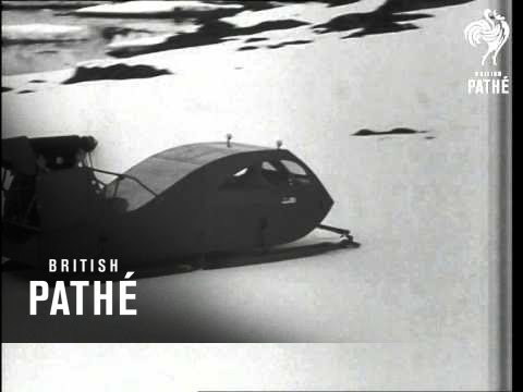 Supplying Antarctic Bases (1964)