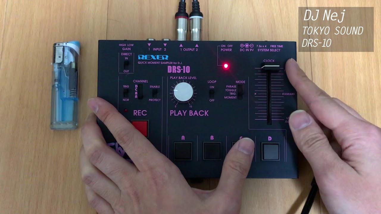 TOKYO SOUND DRS-10 – demo 01 DJ Nej from japan