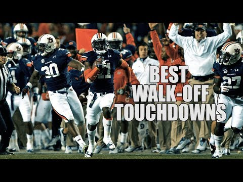 Best Walk-Off Touchdowns In College Football History ᴴᴰ