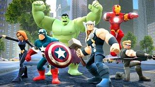Süper Kahraman Thor Kar Savaşçılarına Karşı (Disney Infinity Bölüm 2)