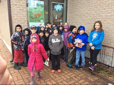 The 2015 StoryWalk at the Sioux Lookout Public Library