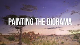 Painting the Diorama