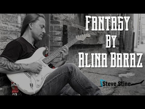 Steve Stine Easy Guitar Lesson - Learn How To Play Fantasy By Alina Baraz