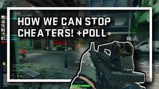 HOW WE CAN STOP CHEATERS!!