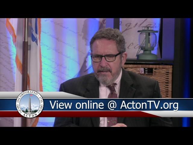 The Acton Agenda Episode 4 September 16th 2016