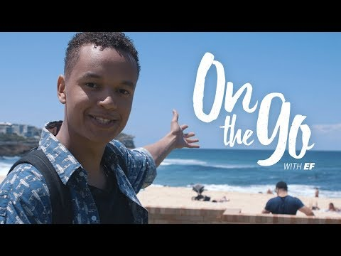 On the go with EF #59 – Liam walks to Bondi Beach, Sydney
