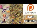 Patreon Base Building: Questions & Base Review (August 2017)
