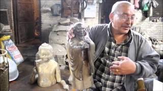 ネパールで最も著名な彫刻家・仏師