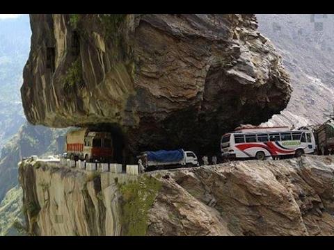 Deadliest Roads In The World Videos Death Road Most - The 10 scariest roads in the world