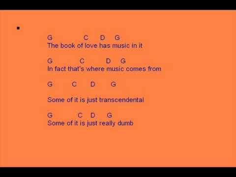 Peter Gabriel - Book of love chords + lyrics - YouTube