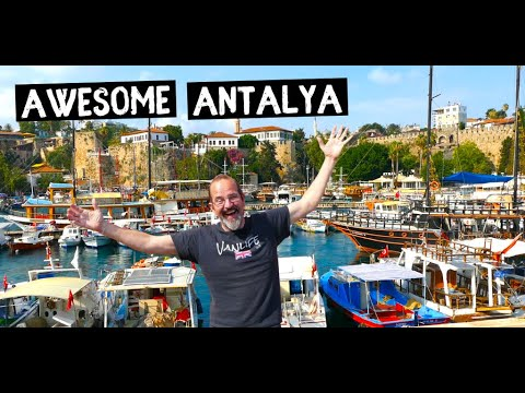 ANTALYA - Exploring TURKEYS Turquoise Coast City