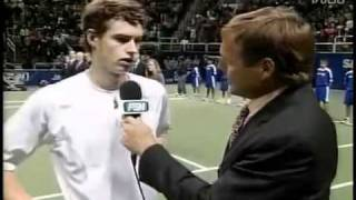 Andy Murray Kissing Kim Sears-sap Open 2006