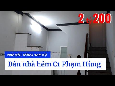 Chính Chủ Bán Nhà Phố Bình Chánh - Bán Nhà Hẻm C1 Phạm Hùng Xã Bình Hưng Huyện Bình Chánh Giá Rẻ