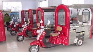 Gambar cover ELECTRIC FOOD CARTS # CARTS MANUFACTURER IN DELHI# SAI STRUCTURES INDIA/ E-FOOD CARTS ON E-RICKSHAW#