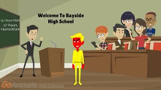 Evil Yellow Horse Misbehaves At School Gets Arrested And Goes To Court!