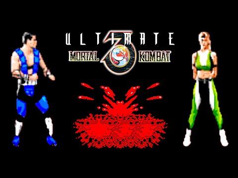 Ultimate Mortal Kombat 3 прохождение (Sega Mega Drive, Genesis)
