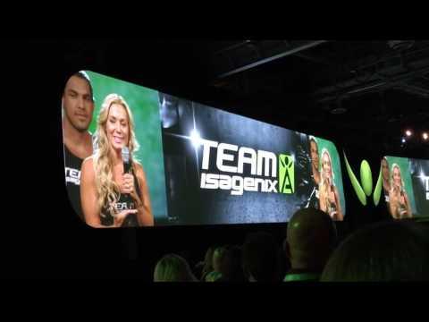 Team Isagenix panel at Celebration 2016