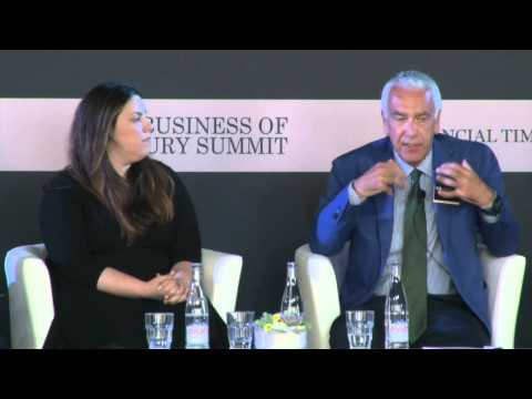 FT Business of Luxury Summit 2015 D1 How New Technology is Influencing Manufacturers
