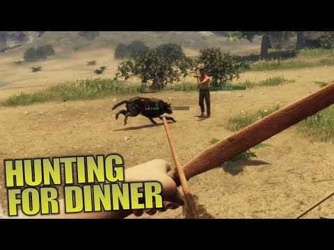 HUNTING FOR DINNER   Subsistence   Let's Play Multiplayer Gameplay   S02E02