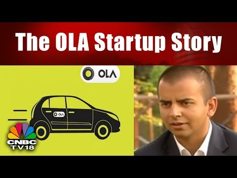 The OLA Startup Story || Bhavish Aggarwal Interview || Ola Cabs CEO || CNBC TV18