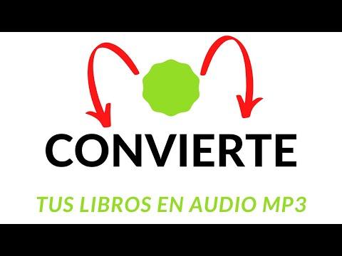 📢Cómo CONVERTIR TEXTO en AUDIO LIBRO PDF a MP3  ONLINE voz en ESPAÑOL  🚀🚀 🎵🎶📃📒📚