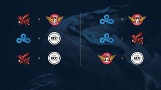 Campeonato Mundial de League of Legends 2017 - Fase de Grupos - Día 8
