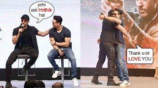 Tiger Shroff Gets EM0TI0NAL-N-THANKS Guru Hrithik Roshan For L0VE-N-RESPECT @WAR Victory Celbr.