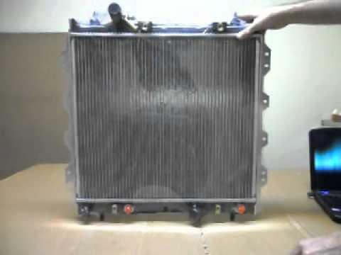 tbap radiator for chrysler pt cruiser 7 00 on tr chr 004 youtube. Black Bedroom Furniture Sets. Home Design Ideas
