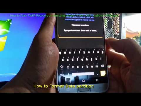 How to Flash TWRP Recovery on Samsung Galaxy J7 SM-J700T / SM-J700T1