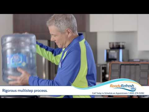 Schedule a Professional Cleaning for your Water Dispenser from ReadyRefresh℠ by Nestlé®