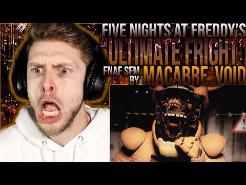 """Vapor Reacts #951   [FNAF SFM] FNAF UCN SONG ANIMATION """"Ultimate Fright"""" By Macabre_Void REACTION!!"""