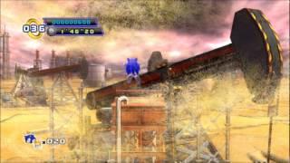 BETA FOOTAGE - Oİl Desert Act 1 - Sonic the Hedgehog 4: Episode 2