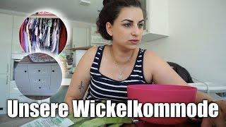 SSW 32 | Unsere Wickelkommode | Esilas Kleiderschrank | Familienvlog | Filiz