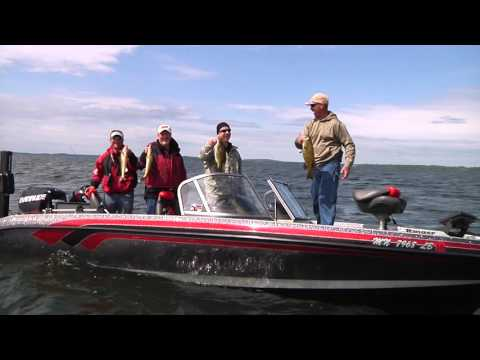 Gov dayton dnr talk walleye with mille lacs lake reso for Mille lacs lake fishing regulations