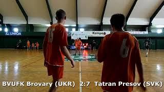Handball. U17 boys. Sarius cup 2017. Tatran Presov (SVK) - BVUFK Brovary (UKR) - 12:6 (1st half)