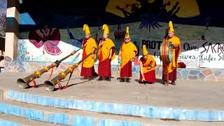 WATER PROTECTORS BLESSING - TAOS NM - Mystical Arts of Tibet - Drepung Loseling Monastery Monks