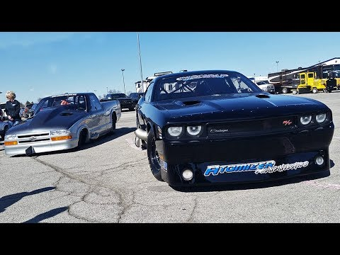 VIXEN – TWIN TURBO HEMI CHALLENGER – ONLY THEIR SECOND RACE!