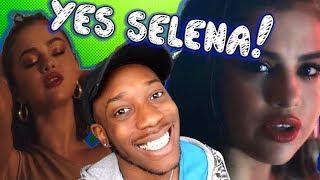 SELENA GOMEZ, MARSHMELLO WOLVES MUSIC VIDEO REACTION