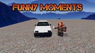 Roblox Vehicle Simulator Funny Moments, Stunts and Glitches