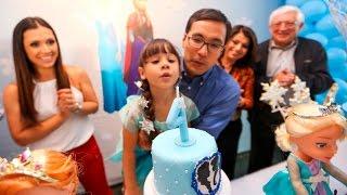 festa de aniversario da lulu 4 anos tema frozen 4k uhd
