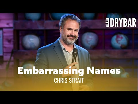 These Sibling's Initials Are Embarrassing. Chris Strait - Fu