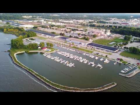 Overview Of South Bay Marina - Green Bay, WI
