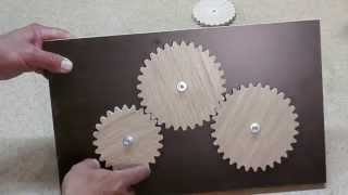 Шестерни из дерева. Wooden gears.(, 2014-08-08T20:40:09.000Z)