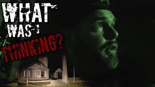 Cursed Cabin Overnight Challenge ALONE!!! (Very Scary) Paranormal Activity Caught on Camera 3AM