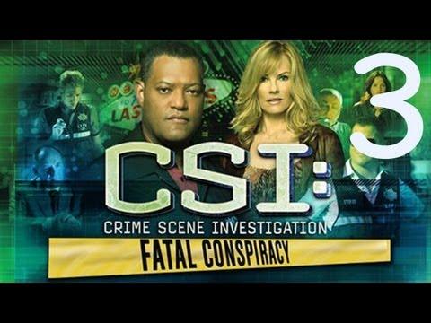 Прохождение CSI: Fatal Conspiracy: 3я часть