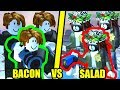 ULTIMATE SALAD HAIRS vs BACON HAIRS | Roblox Jailbreak Ultimate Escape