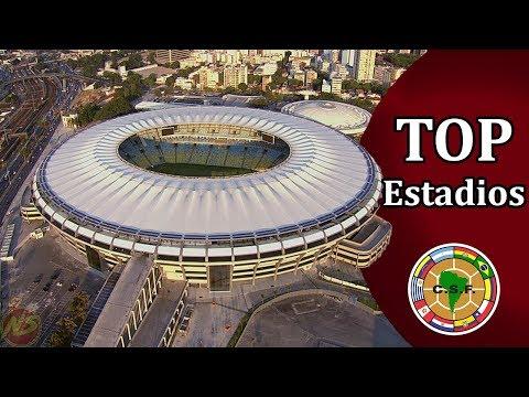 El mejor estadio de cada país de Sudamérica 2018.