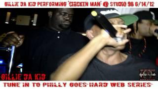 Gillie Da Kid Performs CHICKEN MAN @ Studio 98 Nite Club Phila, PA 06 14 12