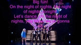night to remember Sharpay and Tiara version Instrumental karaoke