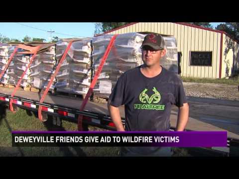 Deweyville men return the favor to Texas panhandle fire victims